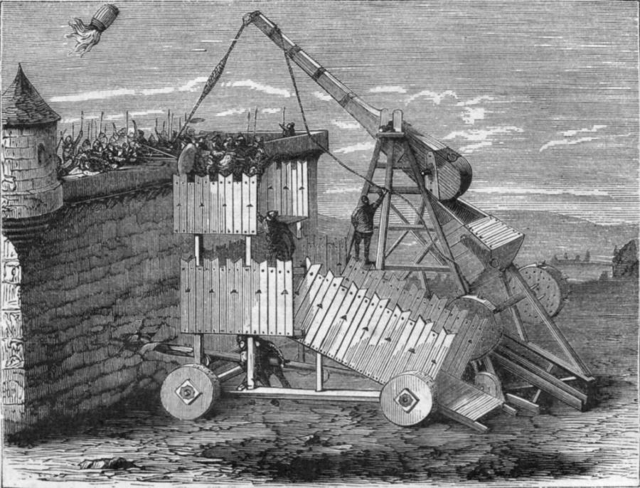 Greek Fire Catapult
