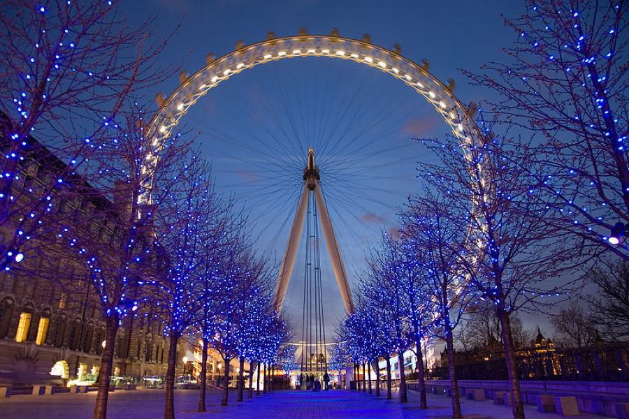 Greenest Cities London Eye