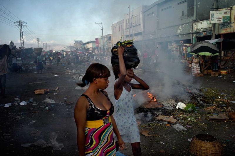 Haiti Earthquake Closed Eyes