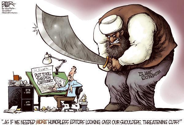 Charlie Hebdo Nate Beeler