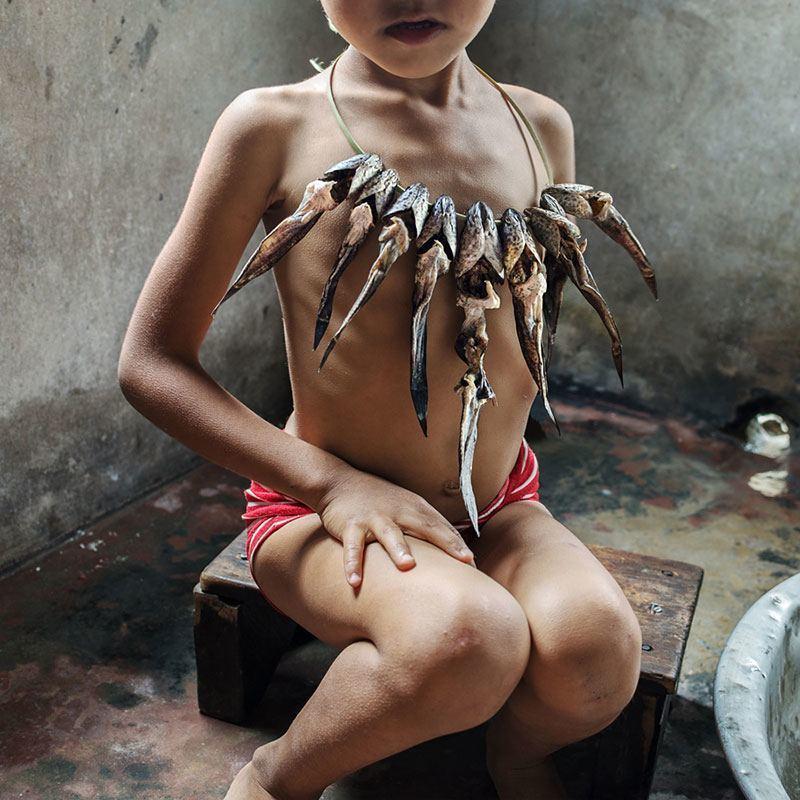 Fish Skeleton Necklace