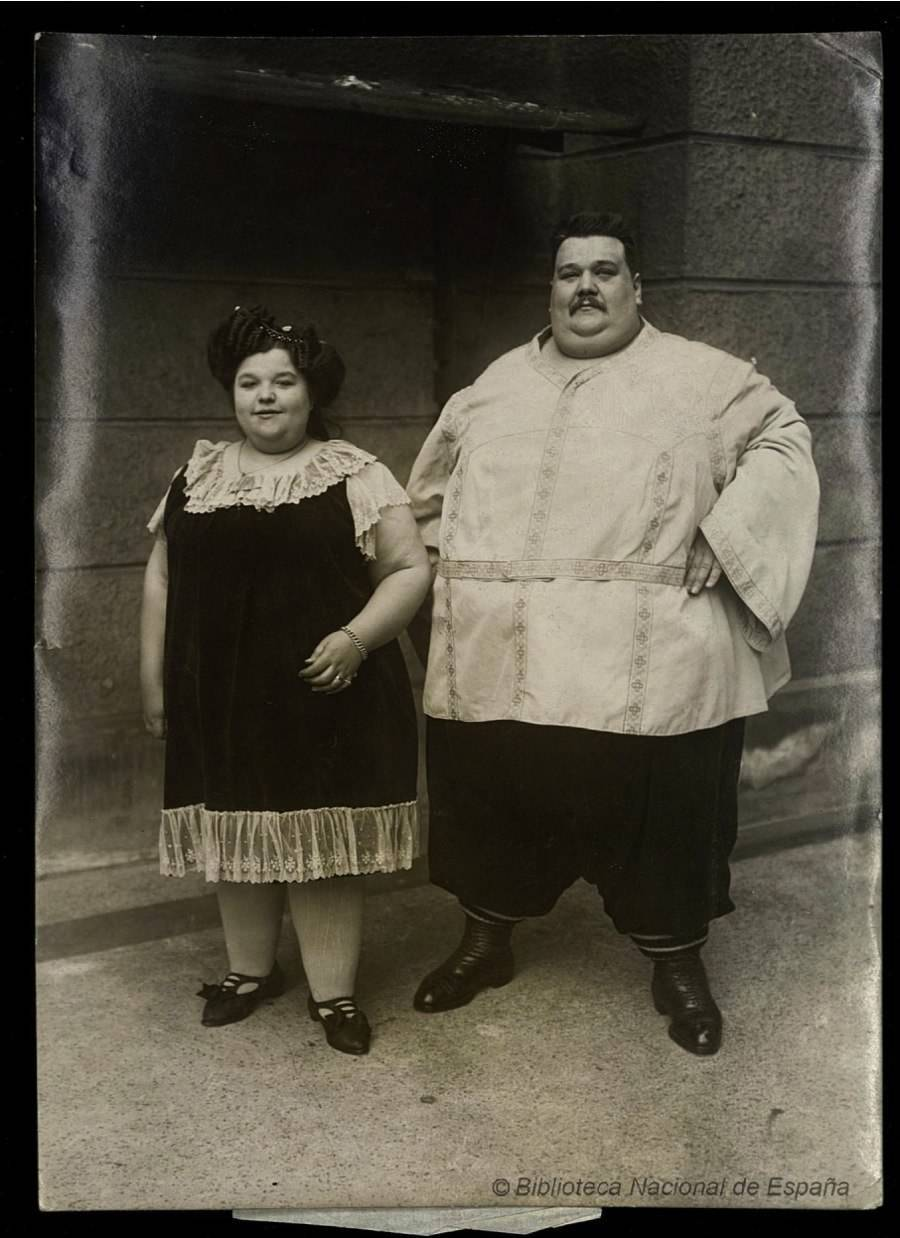 Largest Couple In 1912