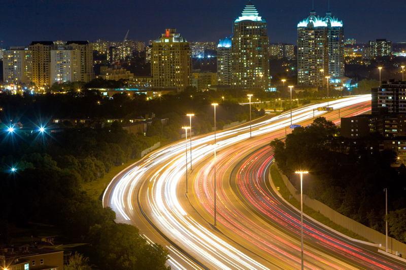 Light Pollution Highway