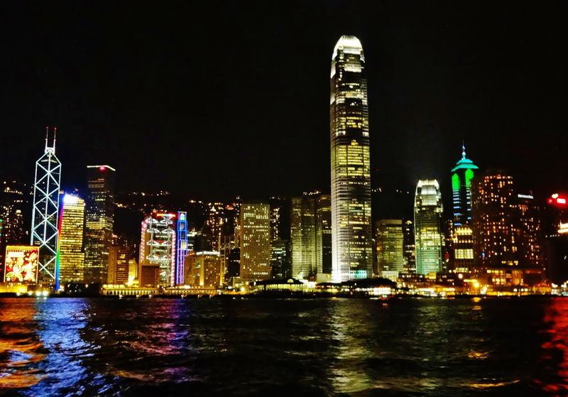 Light Pollution Hong Kong
