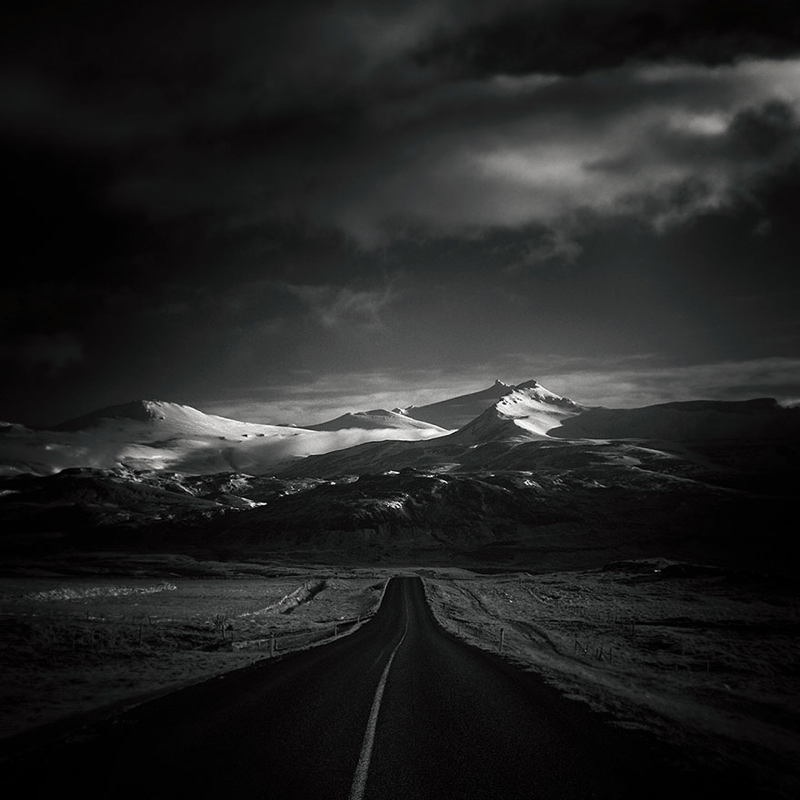 Lonely Roads Grey Scale