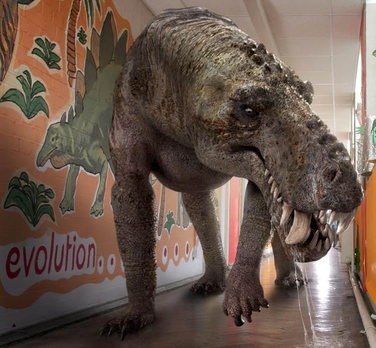 terrifying prehistoric creatures gorgonops