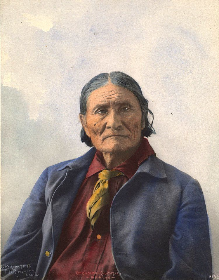native american photography apache geronimo