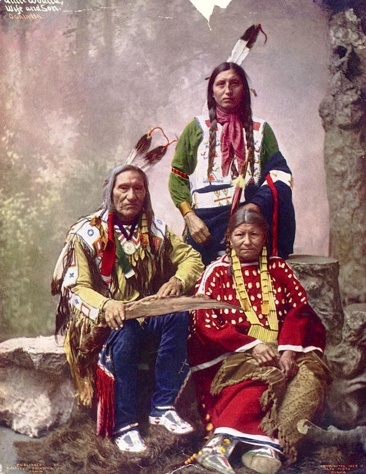 native american photography little wound