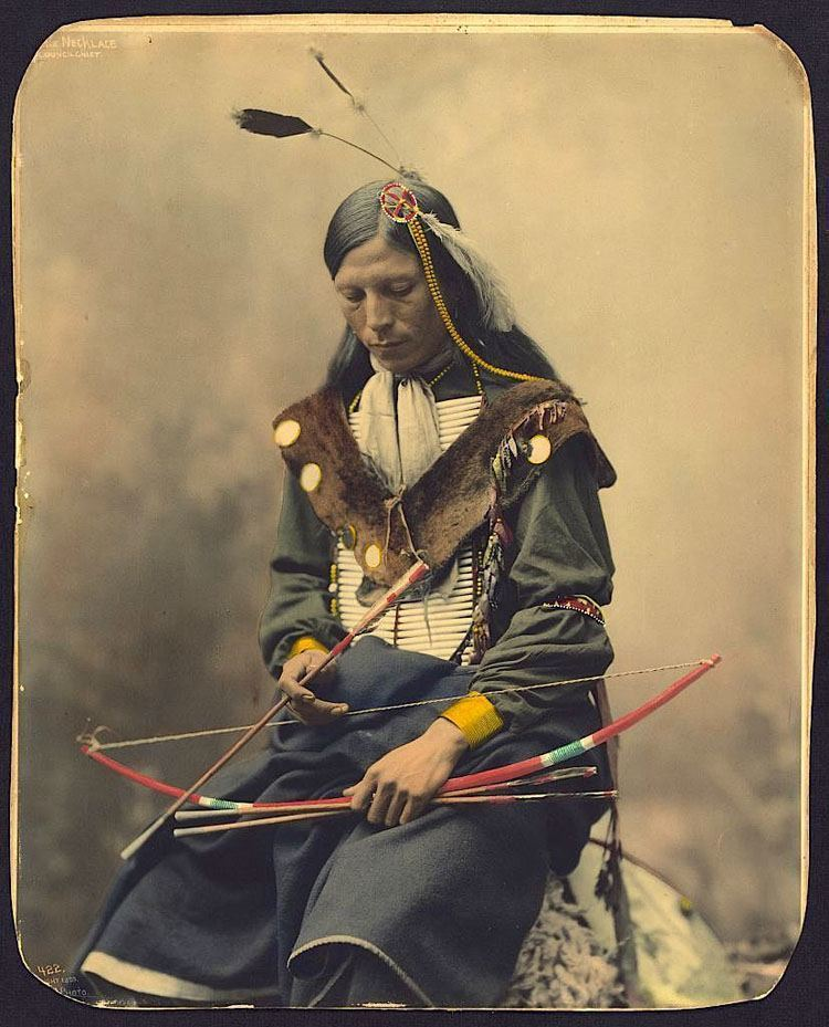 native american photography somber archer