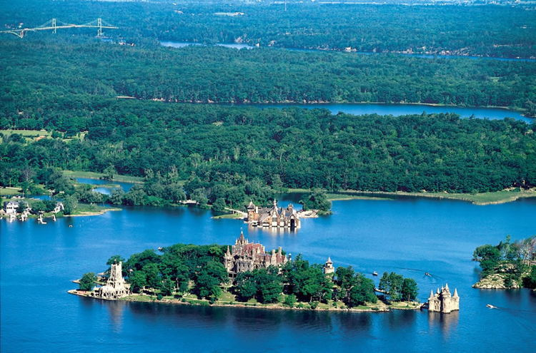 New York Castles Boldt Aerial