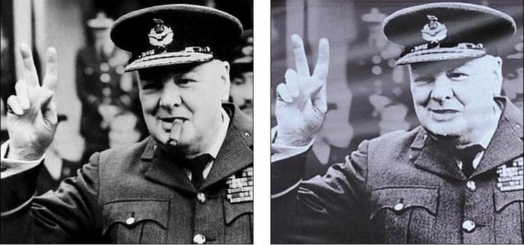 Famous Photoshopped Photos Churchill