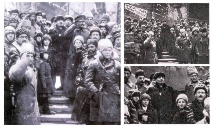 Photoshopped Photos Trotsky Waving