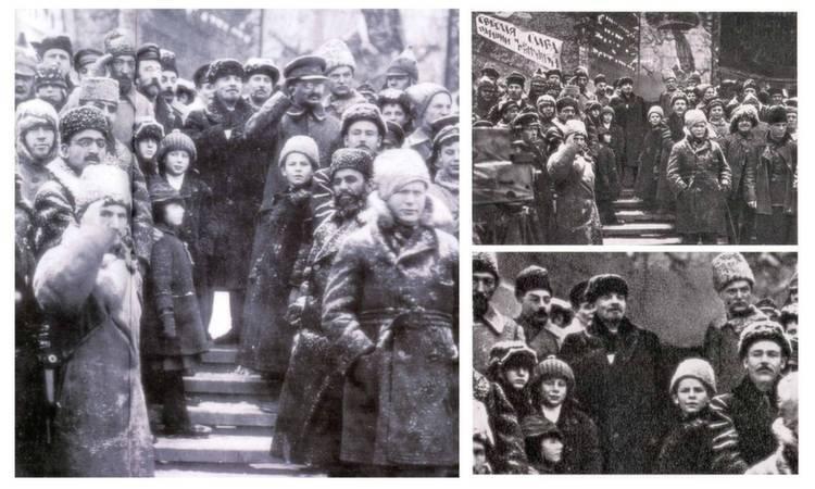 Photoshopped Photos Trotsky Waving