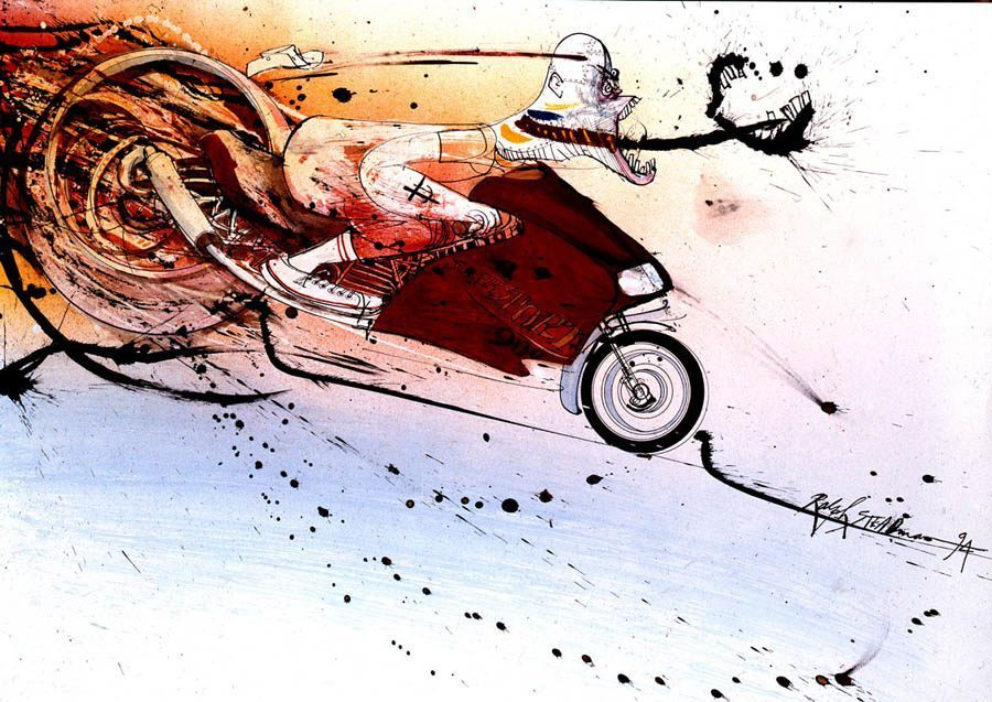 Drawings By Ralph Steadman