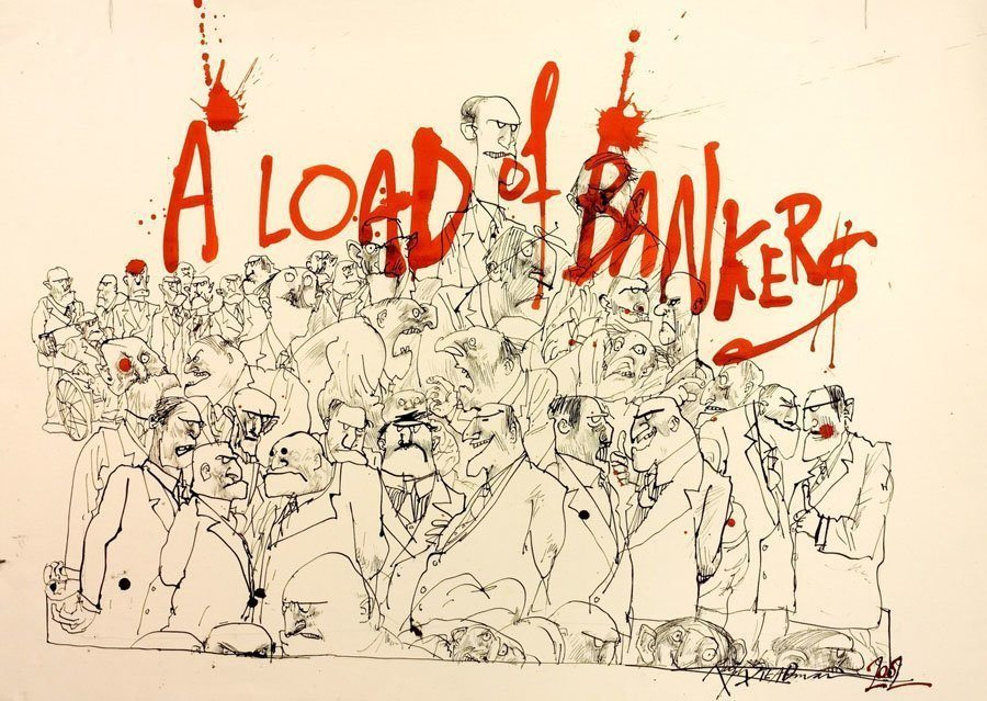 ralph steadman load bankers
