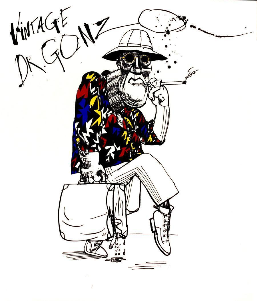 Ralph Steadman Fear And Loathing Art