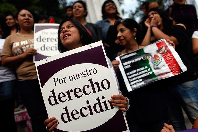 Abortion Protests in Mexico