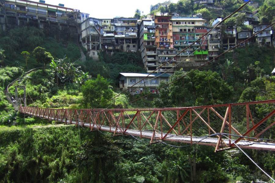 Rice Terraces Banaue Bridge