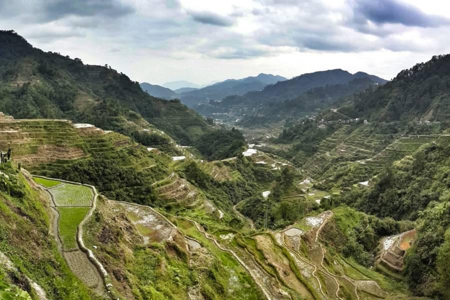 Rice Terraces Banaue Remote