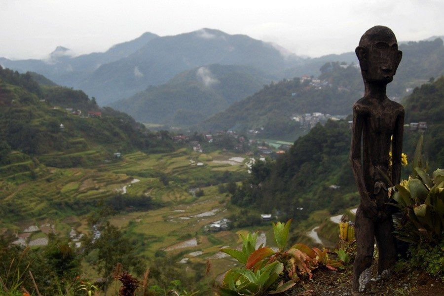 Rice Terraces Bulol Statue
