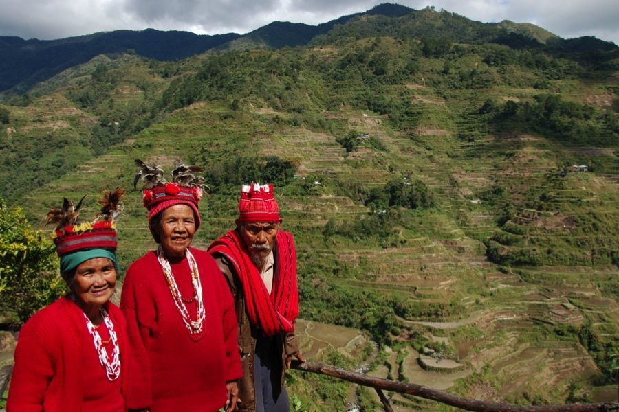 Rice Terraces Ifugao People