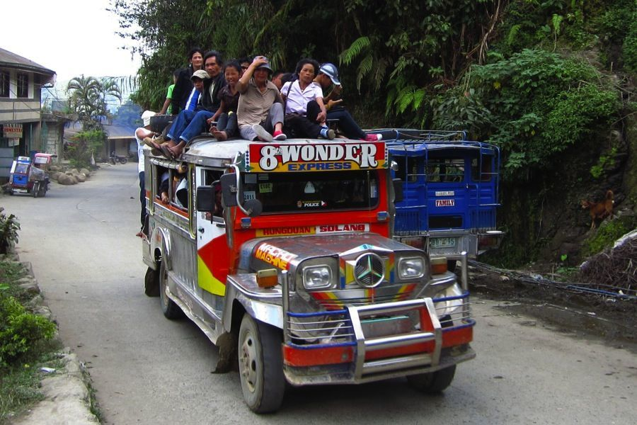 Rice Terraces Jeepney People