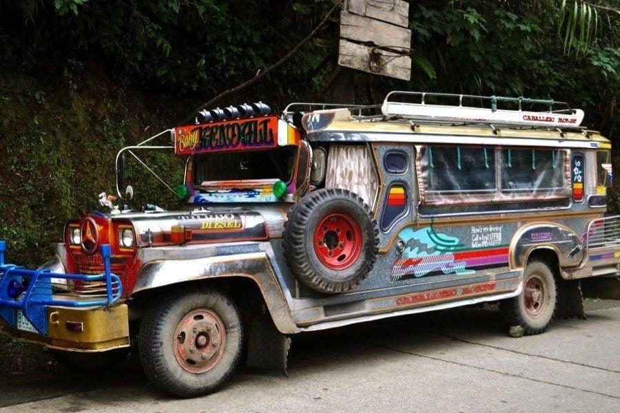 Rice Terraces Jeepney