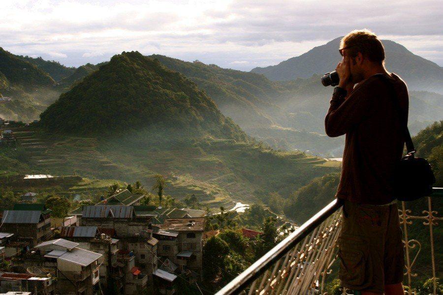 Rice Terraces Tourists