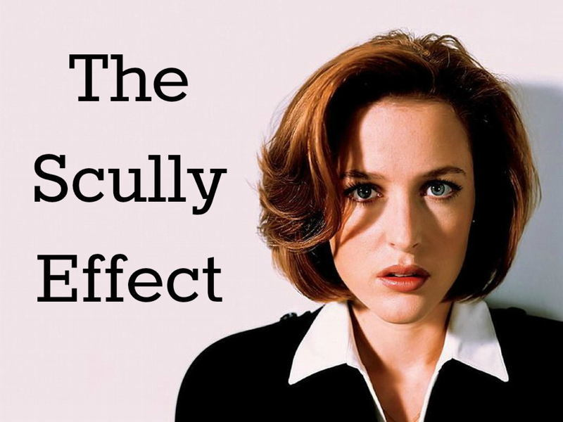 Scully Effect