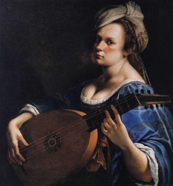Selfie History Artemisia