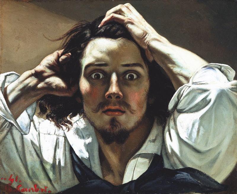 Selfie History Courbet