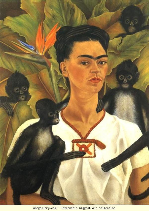 Selfie History Frida