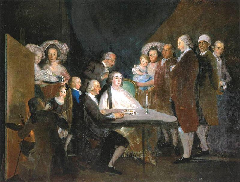 Francisco Goya Self-Painting
