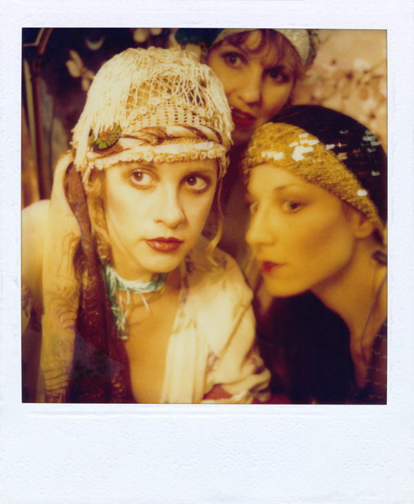 Stevie Nicks Polaroid Selfie