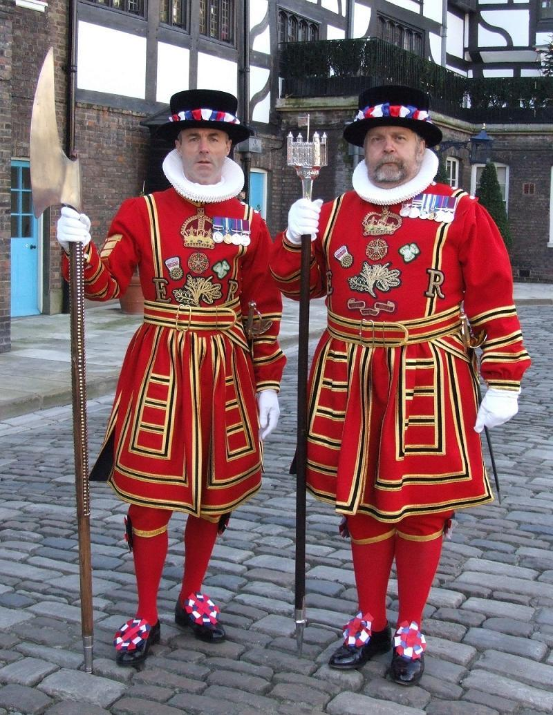 Silly Uniforms Beefeaters