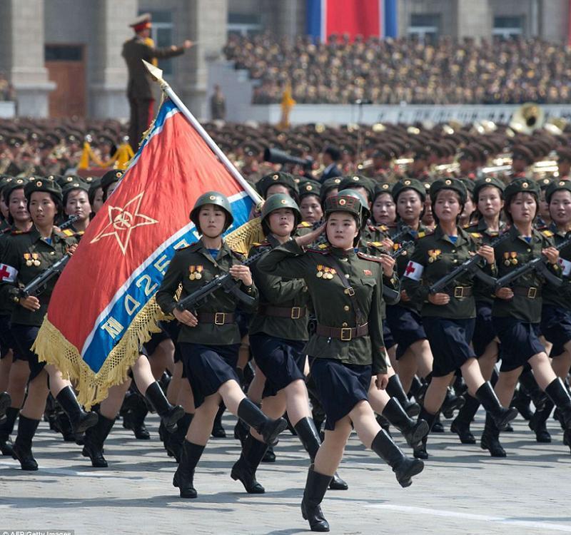 Silly Uniforms DPRK Women