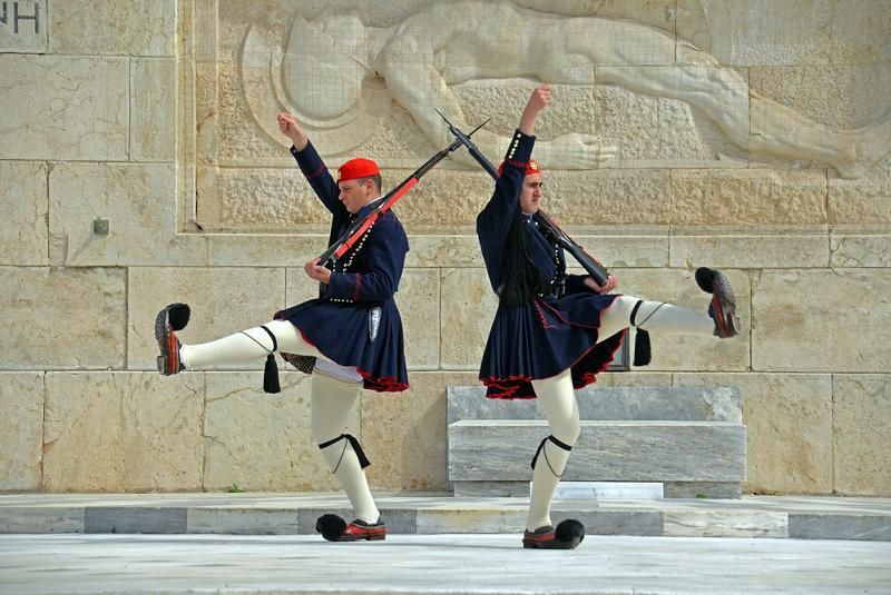Silly Uniforms Greek Guards