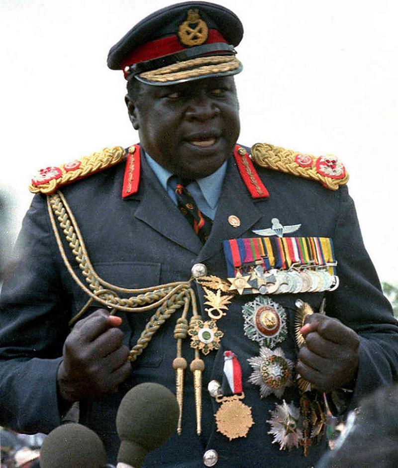 Silly Uniforms Idi Amin