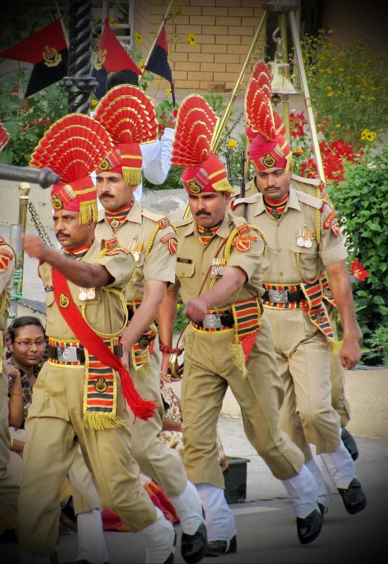 Silly Uniforms Indian Guards
