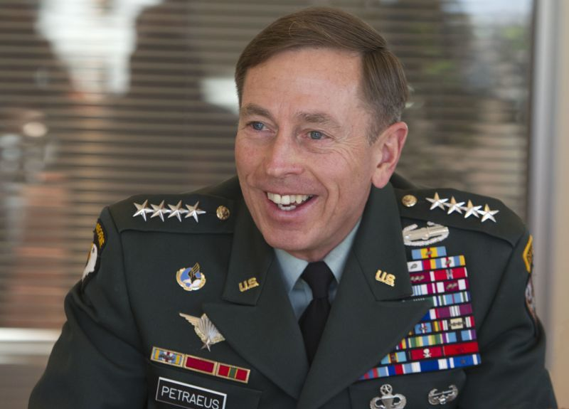 Silly Uniforms Petraeus
