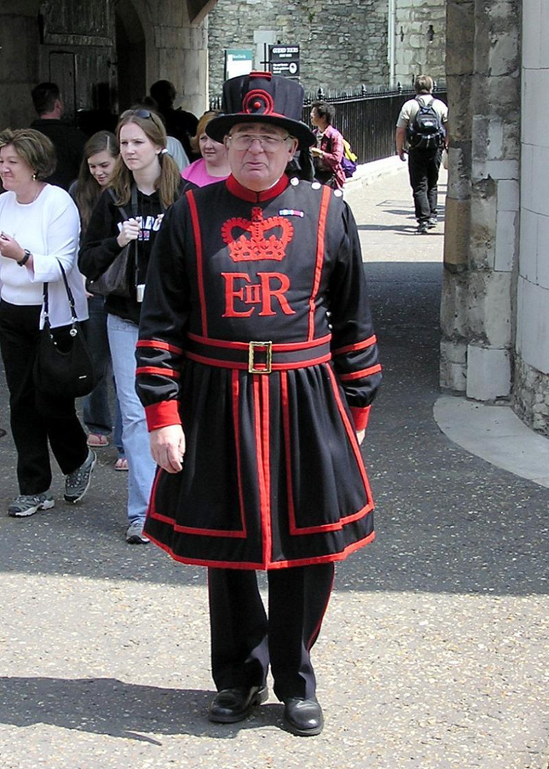 Silly Uniforms Yeoman Warder