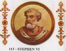Stephen VI Portrait