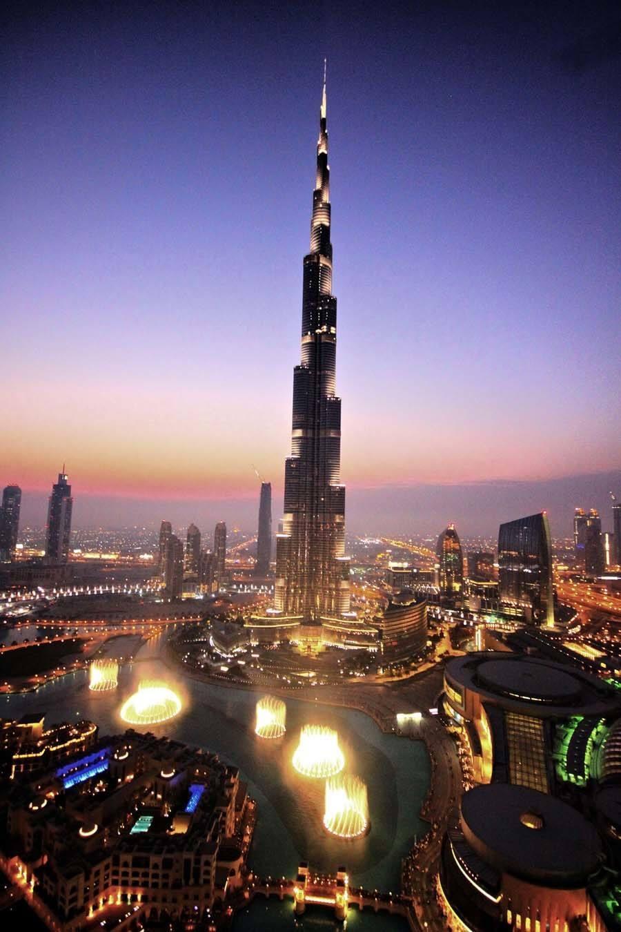 tallest buildings burj khalifa dubai