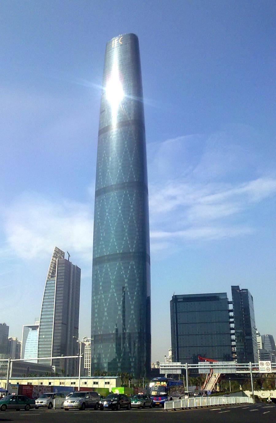 tallest buildings guangzhou international finance