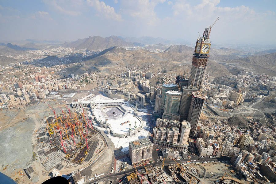 tallest buildings makkah tower