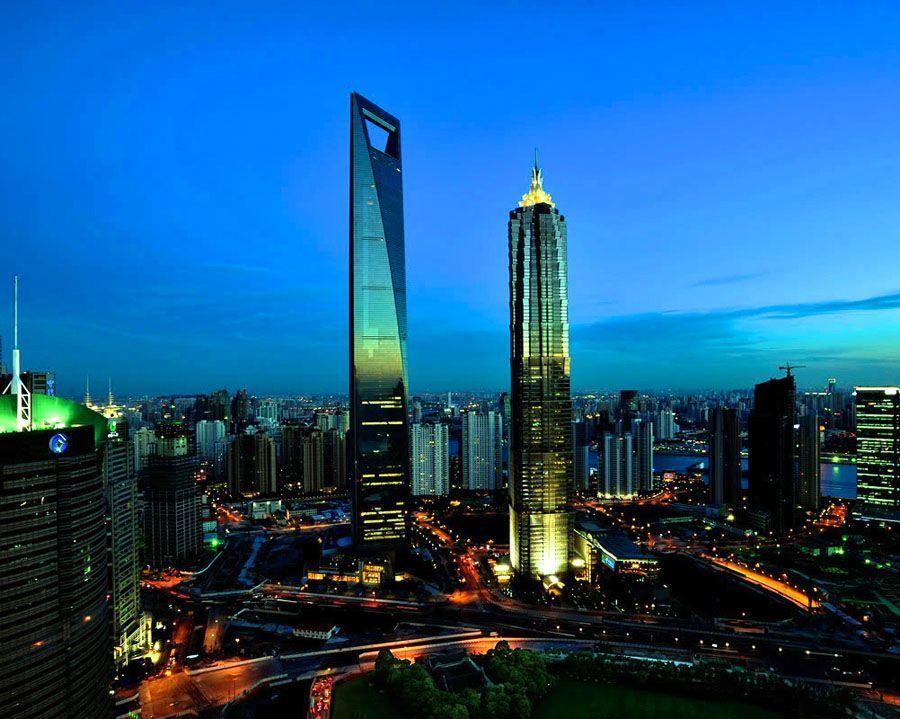 tallest buildings shanghai financial