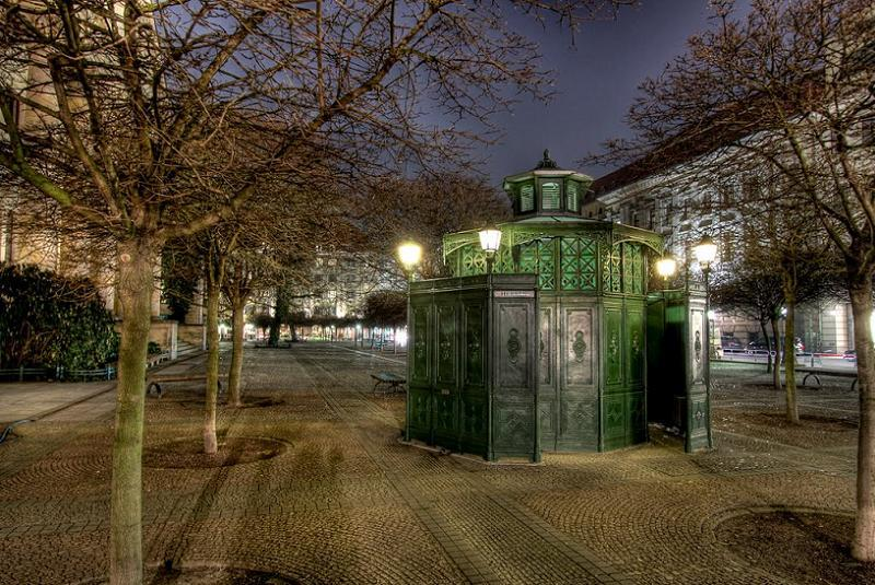 Toilet History German WC