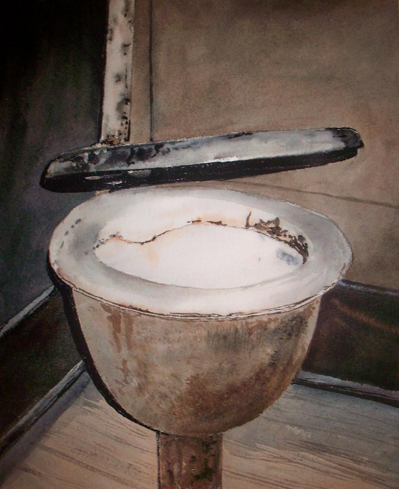 Toilet History Harrington Toilet