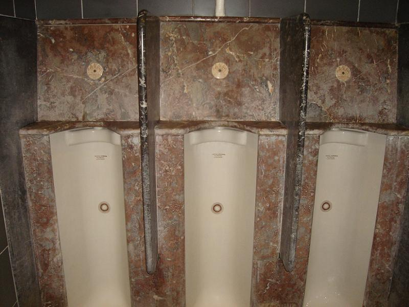 Toilet History Jennings Urinals