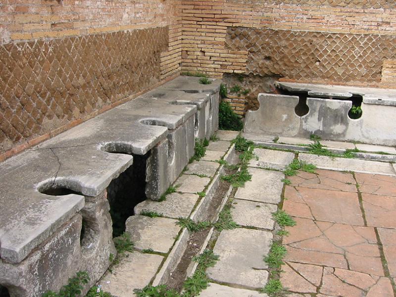 Toilet History Roman Public